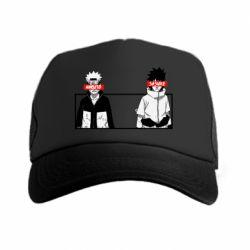 Кепка-тракер Naruto and Sasuke
