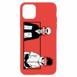 Чехол для iPhone 11 Naruto and Sasuke