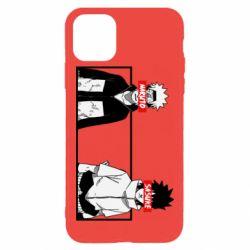 Чехол для iPhone 11 Pro Max Naruto and Sasuke