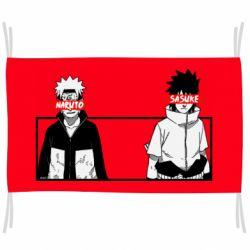 Флаг Naruto and Sasuke