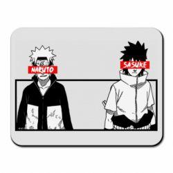 Коврик для мыши Naruto and Sasuke