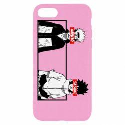 Чехол для iPhone 7 Naruto and Sasuke