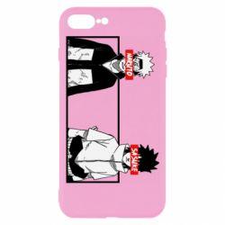 Чехол для iPhone 7 Plus Naruto and Sasuke