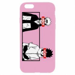 Чехол для iPhone 6/6S Naruto and Sasuke