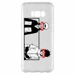 Чехол для Samsung S8+ Naruto and Sasuke