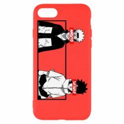 Чехол для iPhone 8 Naruto and Sasuke