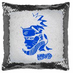 Подушка-хамелеон Naruto face