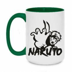 Кружка двоколірна 420ml Naruto Hatake