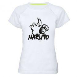 Жіноча спортивна футболка Naruto Hatake