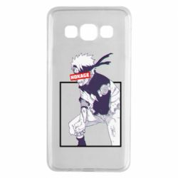 Чехол для Samsung A3 2015 Naruto Hokage glitch