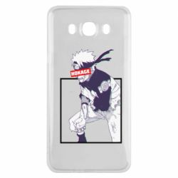 Чехол для Samsung J7 2016 Naruto Hokage glitch