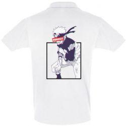 Мужская футболка поло Naruto Hokage glitch