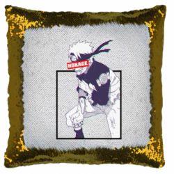 Подушка-хамелеон Naruto Hokage glitch