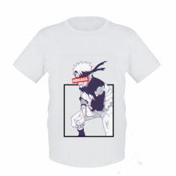 Детская футболка Naruto Hokage glitch