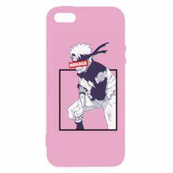 Чехол для iPhone5/5S/SE Naruto Hokage glitch