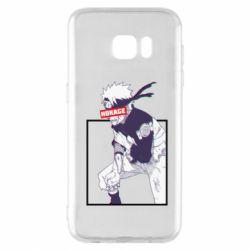 Чехол для Samsung S7 EDGE Naruto Hokage glitch