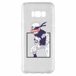 Чехол для Samsung S8+ Naruto Hokage glitch