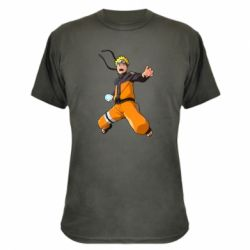Камуфляжна футболка Naruto rasengan