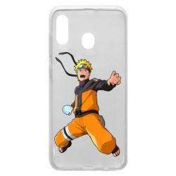 Чохол для Samsung A20 Naruto rasengan