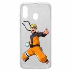 Чохол для Samsung A30 Naruto rasengan