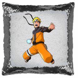 Подушка-хамелеон Naruto rasengan