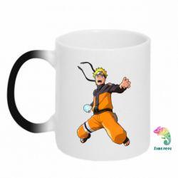 Кружка-хамелеон Naruto rasengan