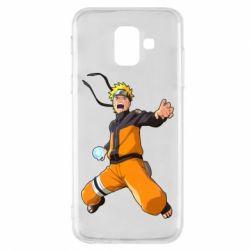 Чохол для Samsung A6 2018 Naruto rasengan