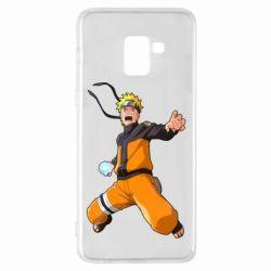 Чохол для Samsung A8+ 2018 Naruto rasengan