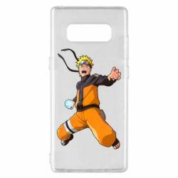 Чохол для Samsung Note 8 Naruto rasengan