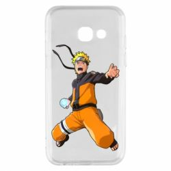 Купить Наруто, Чехол для Samsung A3 2017 Naruto rasengan, FatLine