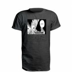 Подовжена футболка Itachi Crying
