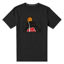 Мужская стрейчевая футболка Naruto tobi