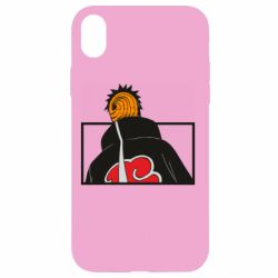 Чехол для iPhone XR Naruto tobi