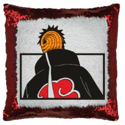 Подушка-хамелеон Naruto tobi