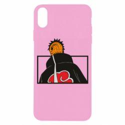 Чехол для iPhone X/Xs Naruto tobi