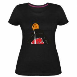 Женская стрейчевая футболка Naruto tobi