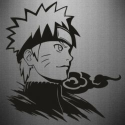 Наклейка Naruto Uzumaki head
