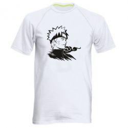 Чоловіча спортивна футболка Naruto Uzumaki head