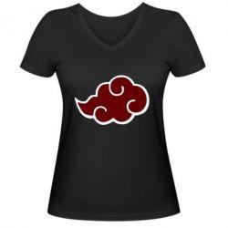 Жіноча футболка з V-подібним вирізом Naruto