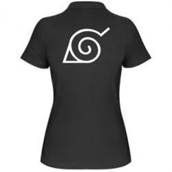 Жіноча футболка поло Натуро