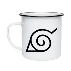 Кружка емальована Натуро