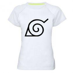 Жіноча спортивна футболка Натуро