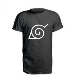 Подовжена футболка Натуро