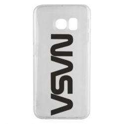 Чохол для Samsung S6 EDGE NASA logo