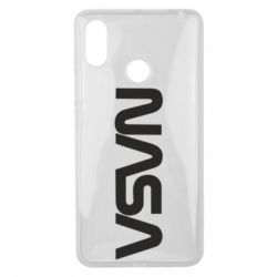 Чохол для Xiaomi Mi Max 3 NASA logo