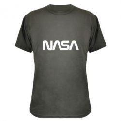 Камуфляжна футболка NASA logo
