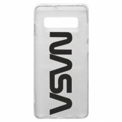 Чохол для Samsung S10+ NASA logo