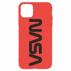 Чохол для iPhone 11 Pro Max NASA logo