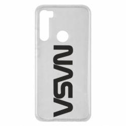 Чохол для Xiaomi Redmi Note 8 NASA logo