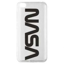 Чохол для Xiaomi Redmi Go NASA logo